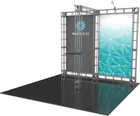 10'x10' Pluto Truss Trade Show Kit. Make a statement at the next trade show or event!