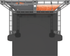 Top view of 10'x10' Mars Truss Trade Show Kit. Make a statement at the next trade show or event!