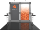 10'x10' Mars Truss Trade Show Kit. Make a statement at the next trade show or event!
