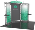10'x10' Lyra-2 Truss Trade Show Kit. Make a statement at the next trade show or event!