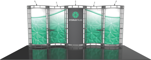 10'x20' Hydrus Truss Trade Show Kit. Make a statement at the next trade show or event!