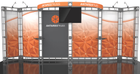 10'x20' Antares Truss Trade Show Kit. Make a statement at the next trade show or event!
