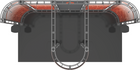 Top view of 10'x20' Polaris Truss Trade Show Kit. Make a statement at the next trade show or event!