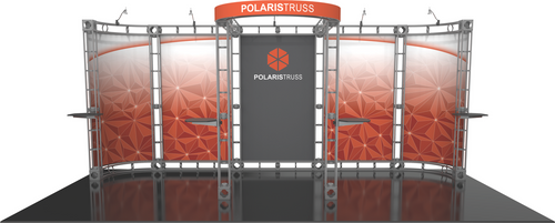10'x20' Polaris Truss Trade Show Kit. Make a statement at the next trade show or event!