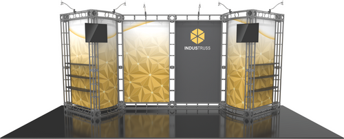 10'x20' Indus Truss Trade Show Kit. Make a statement at the next trade show or event!