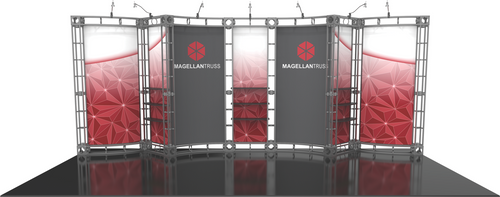10'x20' Magellan Truss Trade Show Kit. Make a statement at the next trade show or event!