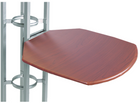 Customize the table top colors for your Magellan trade show truss kit!