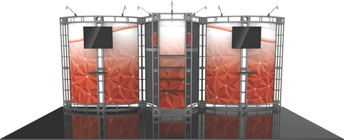 10'x20' Phoenix Truss Trade Show Kit. Make a statement at the next trade show or event!