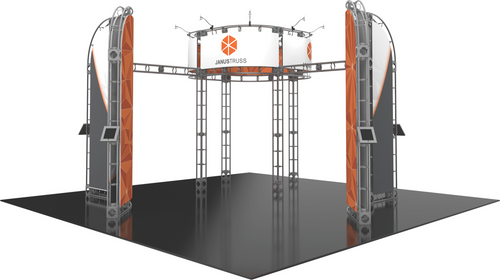 20'x20' Janus Truss Trade Show Kit. Make a statement at the next trade show or event!