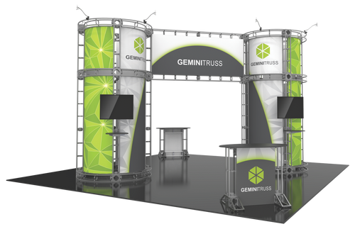 20'x20' Gemini Truss Trade Show Kit. Make a statement at the next trade show or event!