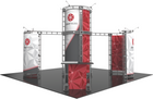 20'x20' Zenit Truss Trade Show Kit. Make a statement at the next trade show or event!
