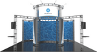 20'x20' Atlas Truss Trade Show Kit. Make a statement at the next trade show or event!