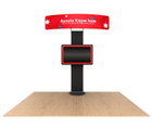 Standroid Monitor Mount package - TV placement is available at 3 different heights