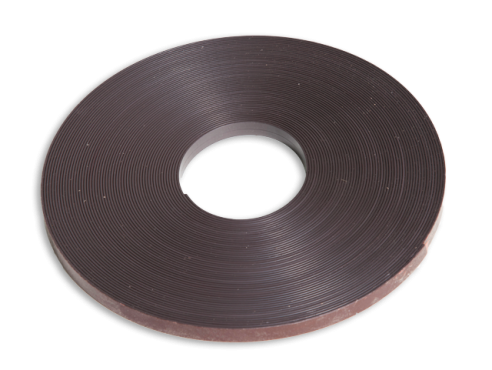 Roll of magnetic strip