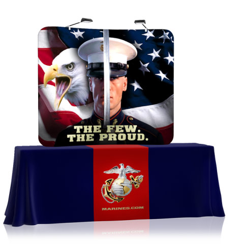 Trade Display Stands : Table top displays stands & portable exhibits display overstock