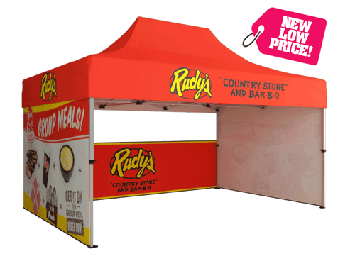 Full Print 15' Event Tent is sure to make your outdoor event a massive success!