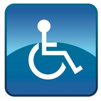 vector handicap symbol