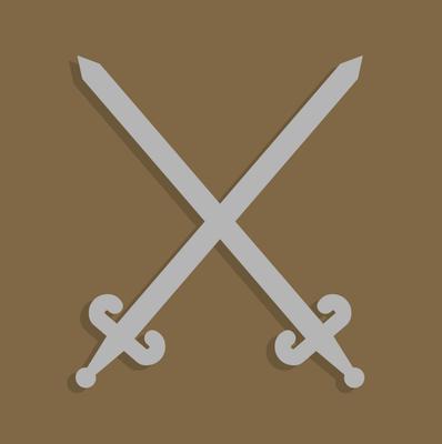 image free vector crossed swords