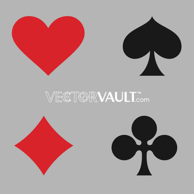 image free vector card suit
