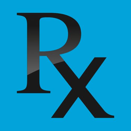 Buy Vector Rx Prescription Symbol Icon Logo Graphic Royalty Free Vectors