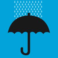 image free vector freebie umbrella rain drops