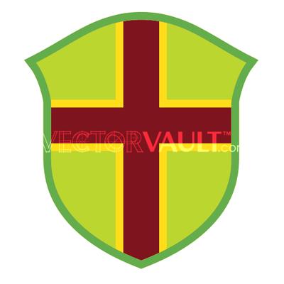 vector shield templar cross image