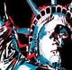 image vector statue of liberty warhol
