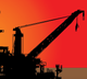 image vector bp offshore oil rig
