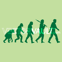 image-buy-vector-evolution-of-man