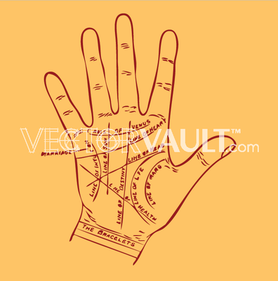 image-buy-vector-palm-reading-fortune-teller
