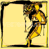 image-buy-vector-abstract-female-figure