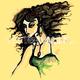 image-buy-vector-brunette-female-portrait