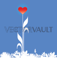 image-buy-vector-blooming-heart-love-flower