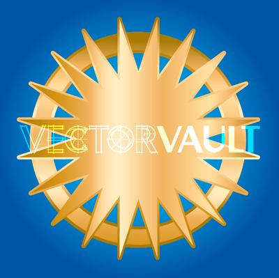 Buy vector starburst halo icon logo graphic royalty-free vectors