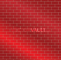 Vector Red Brick Wall