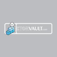 Vector Cube Steps Logo