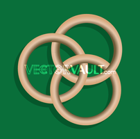 Vector Ring Trio Icon