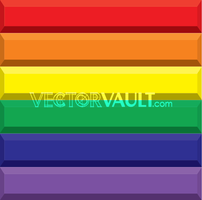 Vector Rainbow Bars