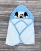 coordinating baby towel