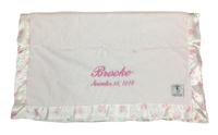 Little Giraffe Baby Blanket | Luxe New Dot Pink