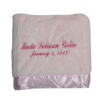 Name and birthdate on silky soft