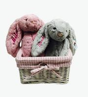 Bashful Bunny Jellycat Gift Basket