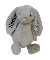 Large gray jellycat bunny