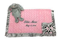blanket and bunny gift for baby