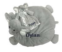 Two Elephant plush toys
