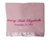 Corporate blanket in pink