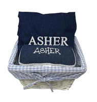 Denim Gift Basket