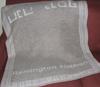 custom gray blanket