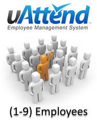 uAttend Web Hosted Time Attendance Plan