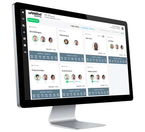 uAttend Staffing Master Console